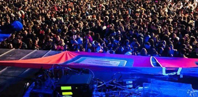 Χαμός στο Πάρτι Νεολαίας στην Πλατεία Κοζάνης!! (Βίντεο)