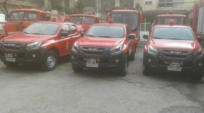 Στην πυροσβεστική υπηρεσία Νεάπολης το ένα από τα τέσσερα νέα οχήματα της Δυτικής Μακεδονίας.