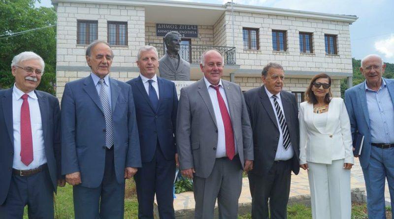 Ο Δήμος Βοΐου στις εκδηλώσεις μνήμης που πραγματοποίησε ο Δήμος Ζίτσας για τον Δημήτριο Νικολίδη, συμμάρτυρα του Ρήγα Φεραίου (Φωτογραφίες).